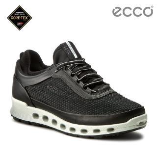 【ecco】COOL 2.0 360度環繞防水休閒運動鞋(黑 84250351052)