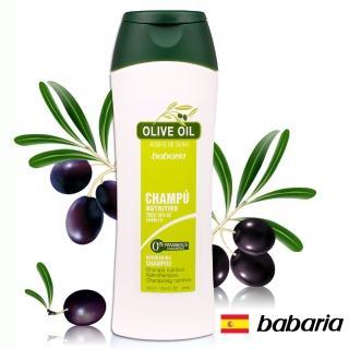 【西班牙babaria】橄欖修護分岔洗髮乳400ml(草本清香)