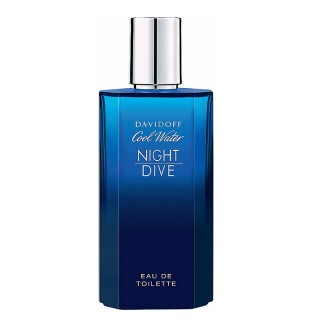 【Davidoff】Cool Water Night Dive 冷泉夜戀淡香水(125 ml)