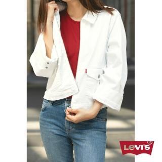 【LEVIS】牛仔外套 女裝 / 短版 / 不收邊