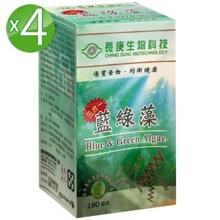 【長庚生技】藍綠藻4入(180粒/瓶)