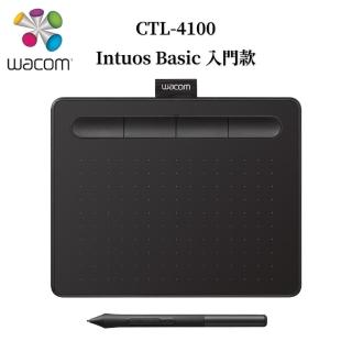 【Wacom】Intuos Basic 入門繪圖板-黑(CTL-4100/K0-C)
