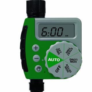 【灑水達人】美國ORBIT自動定時灑水器LCD螢幕(綠色)