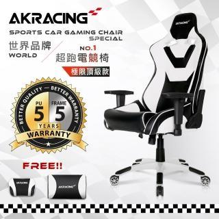 【AKRACING】超跑電競椅極限頂級款GT111SUPERSPORTS(電競椅)