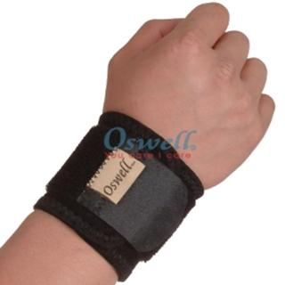 【oswell】O-10竹炭加強型護腕-可調整鬆緊(固定肌肉拉傷或韌帶扭傷)
