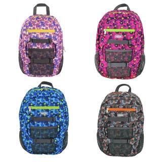 【HUGGER】孩童登山背包(迷彩藍)