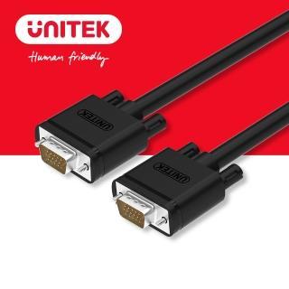 【UNITEK】VGA 高畫質傳輸線 公對公 3M Y-C504G(VGA)