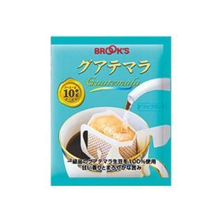 【BROOK'S 布魯克斯】瓜地馬拉25入獨享袋(掛耳式濾泡黑咖啡)