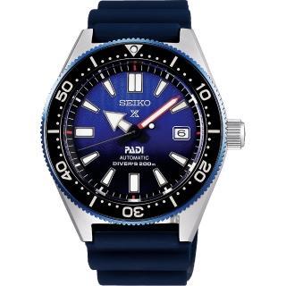【SEIKO 精工】Prospex PADI 聯名200米潛水機械錶(6R15-04B0B  SPB071J1)