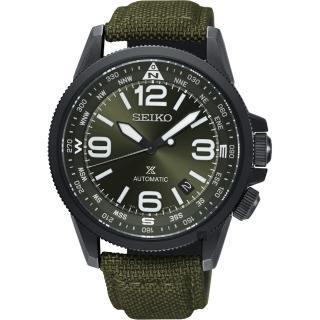 【SEIKO 精工】Prospex 空軍爭霸機械錶-綠/ 42mm(4R35-02N0G  SRPC33J1)