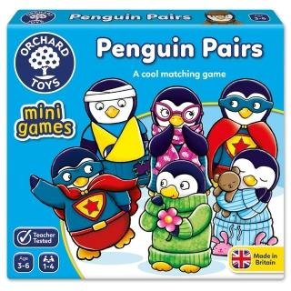 【Orchard Toys】可攜桌遊-企鵝配對(Penguin Pairs Mini Game)