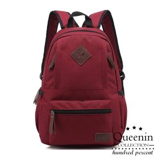 【DF BAGSCHOOL】日系人氣空氣感雙肩後背包-共3色