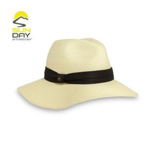 【美國Sunday Afternoons】女 抗UV 防曬波西米亞透氣編織帽 象牙白 Vista Hat(SAS2C27497C)