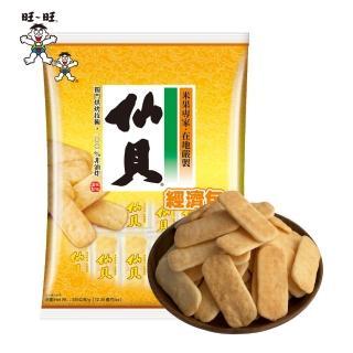 【旺旺食品】仙貝經濟包(350g/包)
