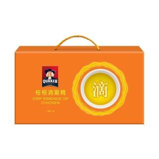 【QUAKER 桂格】滴雞精52ml×9包/盒(超夯伴手禮 送禮健康又大方)