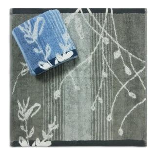 【Gemini 雙星】植物系蔓草方巾(繁瑣工藝織造漸層色紗日本技術前染後織)