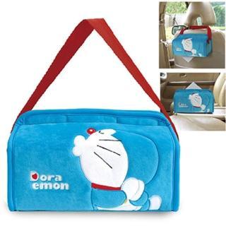 【Doraemon 哆啦A夢】KISS 兩用面紙盒護套(台灣製)