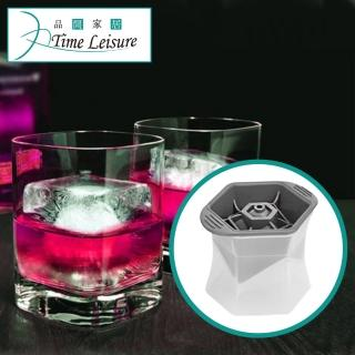 【Time Leisure】威士忌 方型製冰盒(2入組)