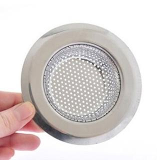 【PUSH!】外徑7CM內徑4.3CM深度1.5CM密合式不鏽鋼流理台水槽濾網(HD1018)