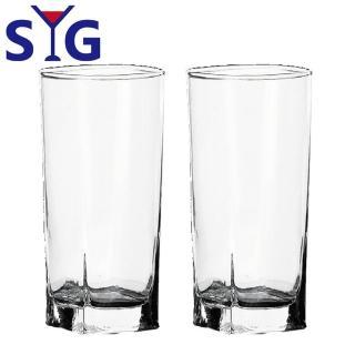 【SYG 台玻】玻璃方形果汁杯300cc(2入組)