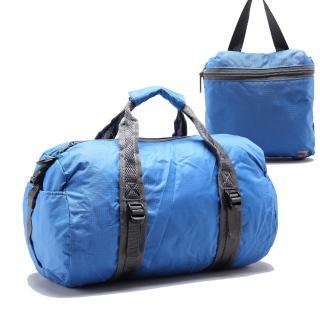 【B.F.】樂天簡約折疊式收納防潑水旅行袋 大款(共6色)