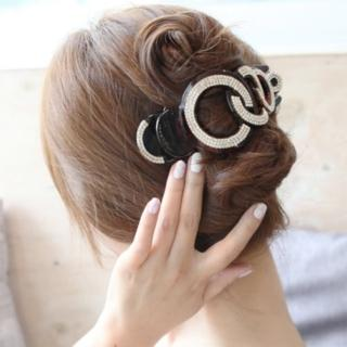 【UNICO】韓國 精緻奢華閃鑽大號鯊魚夾/髮夾