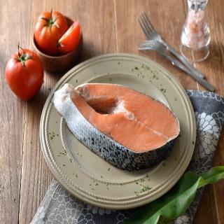 【王家的魚店】智利厚切鮭魚(厚切鮭魚5片組)
