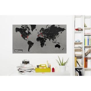 【palomar】拼世界地圖 黑色