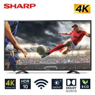 日本夏普 50吋4K智慧型連網液晶顯示器