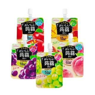 【TARAMI】吸吸果凍 150gx6入/盒-口味任選(水蜜桃/葡萄/白葡萄/蘋果/芒果)