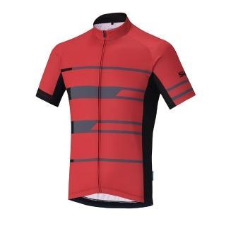 【SHIMANO】TEAM 短袖車衣(男款 紅)