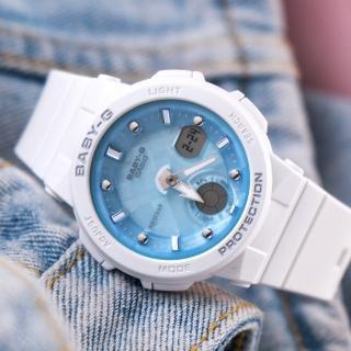 【CASIO 卡西歐】BABY-G 陽光海洋風格休閒運動腕錶(BGA-250-7A1DR)