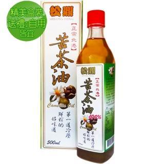 【松鼎】100%苦茶油_盒裝6瓶組(500ml/瓶)