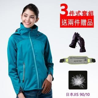 【FOX FRIEND 狐友】女 WINDCOVER 軟殼衣防風保暖夾克(734)