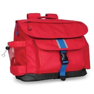 【美國Bixbee】經典系列活力紅大童輕量舒壓背書包