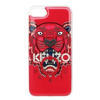 【KENZO】3D立體彩繪虎頭 I PHONE 7 扣指環軟膠手機殼(4.7吋/紅色)