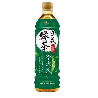 【光泉】冷泡茶日式無糖綠茶585ml*24(獨家→茶分子冷萃技術)
