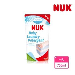 【NUK】嬰兒洗衣精補充包750ml