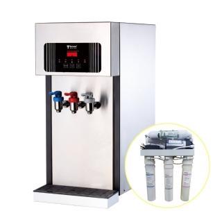 【德克生活】T2-3型桌上型冰冷熱全沸騰飲水機(贈5道式RO逆滲透+免安裝費)