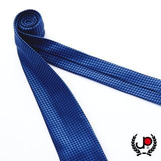 【JYI PIN 極品名店】100%絲質義大利手工領帶_寶藍格紋(YT5082)