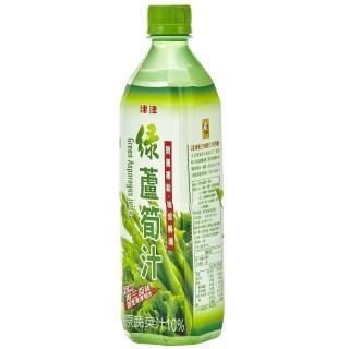 【津津】綠蘆筍汁飲料600ml(4入/組)