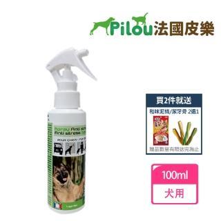 【Pilou 法國皮樂】天然草本情緒安撫噴劑-犬用100ml(環境用)