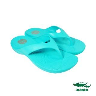 【母子鱷魚】Q彈MIT超輕量氣墊拖鞋