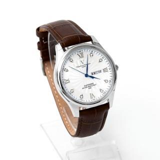 【Valentino Coupeau】羅馬數字皮革錶