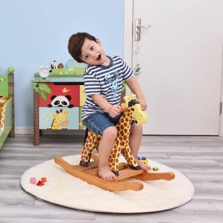 【Teamson】動物樂園長頸鹿搖搖馬