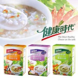 【活力百匯】什錦糙米粥40gx6入(青蔬/香菇/櫻花蝦芋頭口味任選)