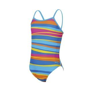 【Zoggs】少女童話彩虹花背連身泳衣