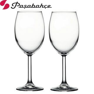 【Pasabahce】高腳白酒杯230cc(二入組)