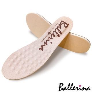 ~Ballerina~〈鏤空洞洞系列 〉超吸汗不臭腳‧ 訂製全真皮可抽換式乳膠按摩鞋墊 1