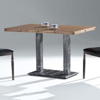 【AS】康奈實木4尺餐桌-121x71x75.5cm